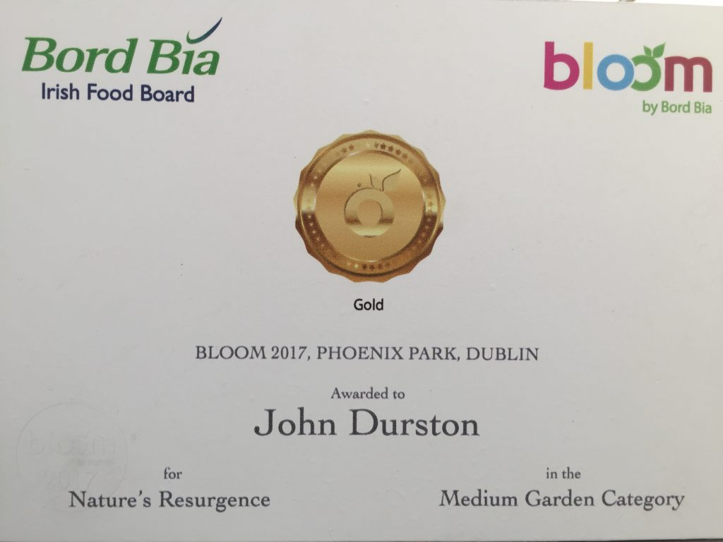 Gold Winning Garden Design John Durston
